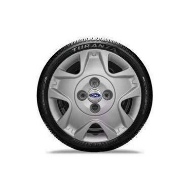 Calota Aro 14 Para Ford Fiesta Hatch 2011 2012 2013 +emblema