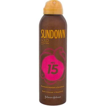 Bronzeador Sundown Gold Spray FPS 15 200ml