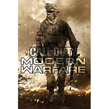 Call of Duty Modern WarFare: Notebook 120 Empty Pages With Lines size 6 x 9