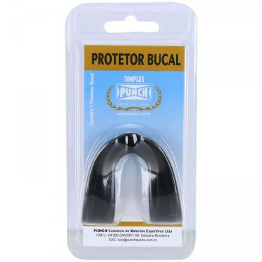 Protetor Bucal Punch Protector Fight - Adulto Punch Unissex