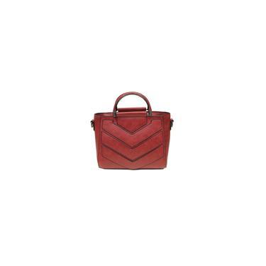 Saco de moda Shoulder Triângulo Patchwork Bag Handbag Crossbody Vintage