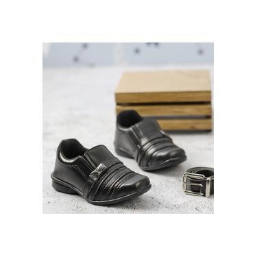 Sapato Social C/Cinto Redmax Preto Infantil A934