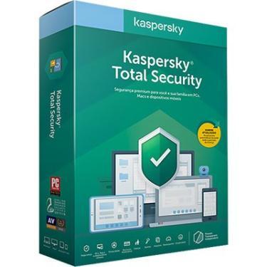 Kaspersky Total Security 5 dispositivos 1 ano PT 1 UN