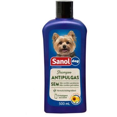 Shampoo Sanol Dog Antipulgas - 500ml