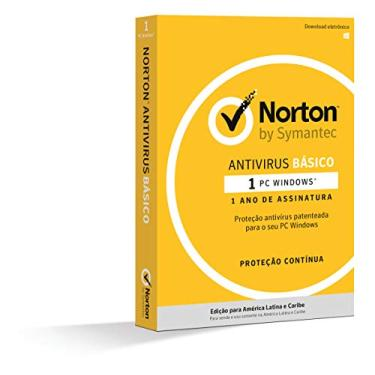 Card Norton Antivírus Básico - 1 dispositivo