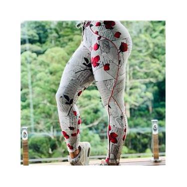 Imagem de Calca Legging Empina Bumbum Cartas Romanticas Moving