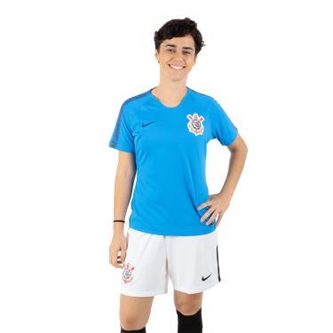 Camiseta Nike Corinthians Squad Feminina