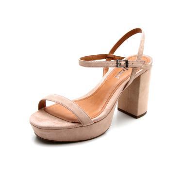5e7f904f5 Sandália R$ 29 a R$ 200 Feminino Salto Colcci Nude Grosso | Moda e ...