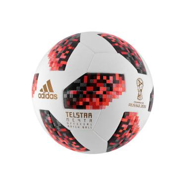 Bola de Futebol de Campo Telstar Oficial Finais da Copa do Mundo FIFA 2018 adidas  OMB a909de15336bc