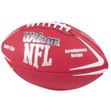 Bola de futebol americano Nfl Avenger Junior Vermelha Wilson aa32e9a44458d