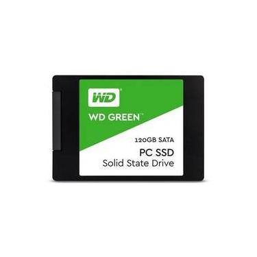 Hd Ssd 120 Gb Wd Western Green 540-405mb