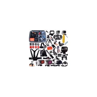Imagem de Acessórios para GoPro Hero 5 Hero 6 Hero 7 Black Caixa estanque touch Filtro Bóia Tripé Luva Bases
