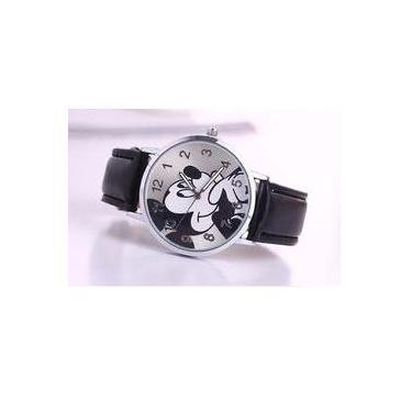 0ef6ced65df Relógio De Pulso Adolescente criança Mickey Mouse - Preto
