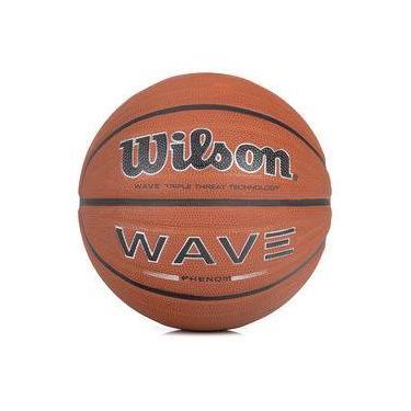 f766bb6b2a Bola De Basquete Wilson Wave Phenom Laranja E Preta