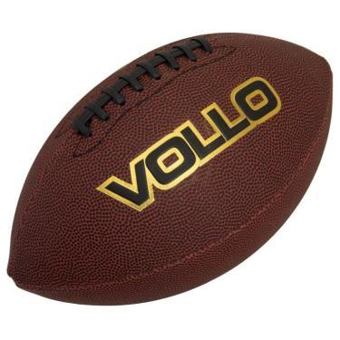 Bola de Futebol Americano Vollo - Marrom 836146df02942