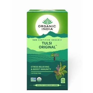 Chá Tulsi Original 25 Sachês  Organic India