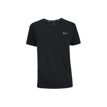 Camiseta Nike Miler Top SS - Feminina Nike Feminino