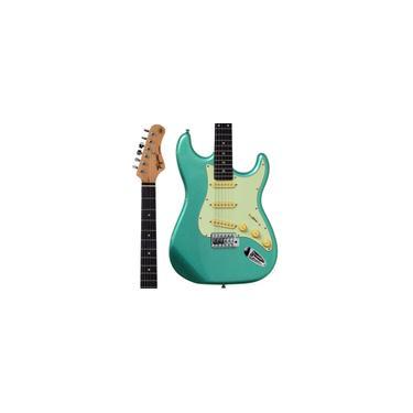 Imagem de Guitarra Stratocaster Tagima TG500 Metallic Surf Green Verde