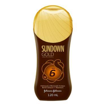 Protetor Solar Sundown Gold FPS6 120ml