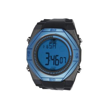 e9e55237550 Relógio Digital Mormaii MO3374A - Masculino - PRETO AZUL Mormaii