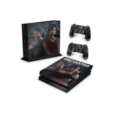 Skin Adesivo para PS4 Fat - Uncharted Lost Legacy