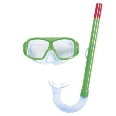 Kit Snorkel Com Máscara Infantil Bestway Para Mergulho