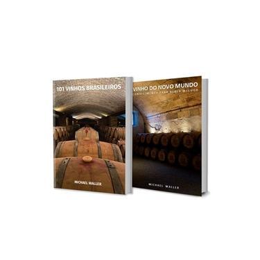 Kit de Livros: 101 Vinhos Brasileiros + Vinho do Novo Mundo