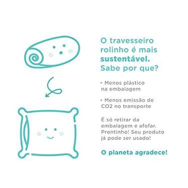 Imagem de Travesseiro Rolinho Sleep Care Memory ARTEX - King - Branco