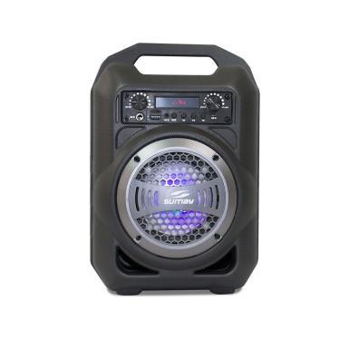 Caixa de Som Portátil Sumay Gallon Music SM-CSP1302 Bluetooth Cinza