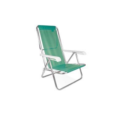 Cadeira Reclinável Alumínio 8 Posições Anis