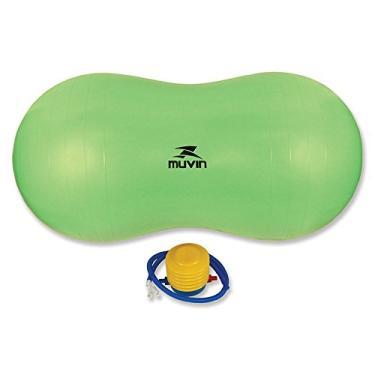 Bola de Pilates Peanut (Feijão) - Muvin - Verde