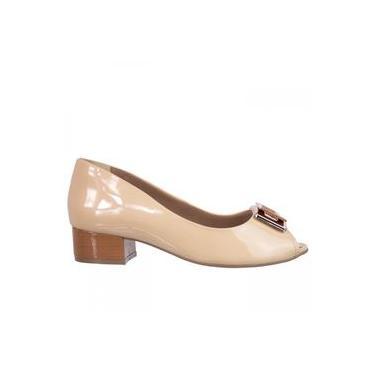 Sapato Peep Toe Feminino Ramarim 1692204