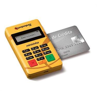 Minizinha Maquininha de Cartão para Celular Bluetooth D15O Débito, Crédito e Refeição