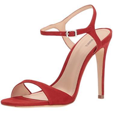 SCHUTZ Sandálias Femininas de Jade com Tiras, Tango Red, 8