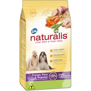 Ração Total Naturalis Frango,Peru e Vegetais para Cães Adultos Raças Pequenas - 2 Kg