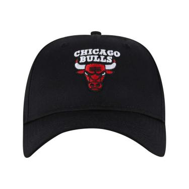 Boné Aba Curva New Era 940 Chicago Bulls SN - Snapback - Adulto New Era Unissex