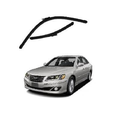 Kit Palhetas Limpador de Parabrisa Dianteiro Hyundai Azera Ano 2008 - 2012