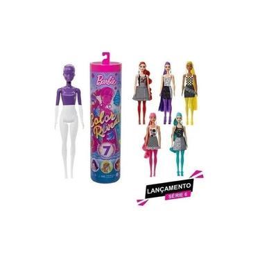 Imagem de Boneca Barbie Color Reveal Série 6 - Mattel