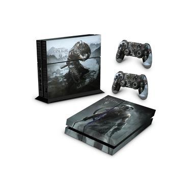 Skin Adesivo para PS4 Fat - Skyrim