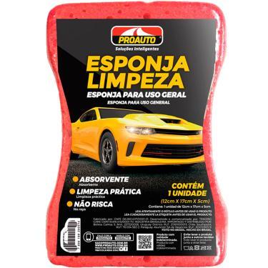 Imagem de Esponja para Lavagem e Limpeza Automotiva Proauto