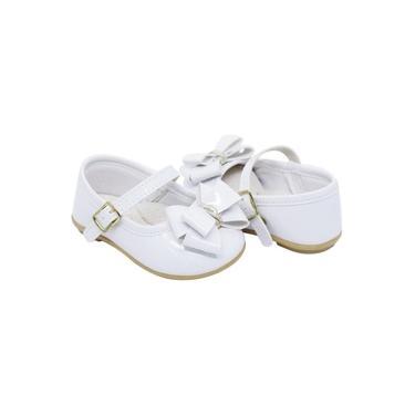 Sapato Infantil Pimpolho Fase 02 Feminino Branco