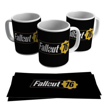 Caneca Jogo Fallout 76 Vídeo Game Geek Gamer Presente