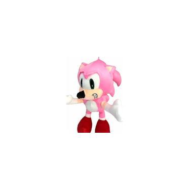 Imagem de Pelúcia Boneco Ouriço Fofinho Coleção Tipo Turma Do Sonic rosa