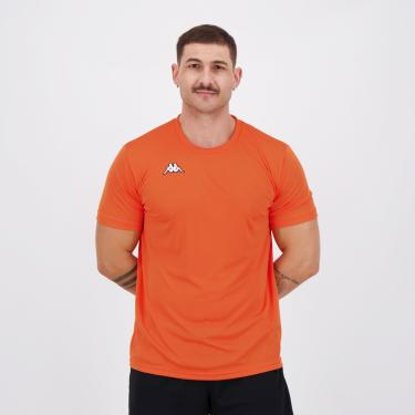 Camisa Kappa Modena Laranja - P