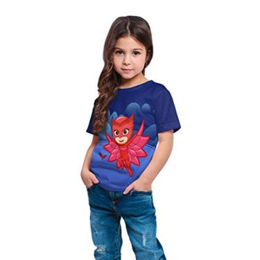 Camiseta Infantil Menina Amaya Corujita PJ Masks