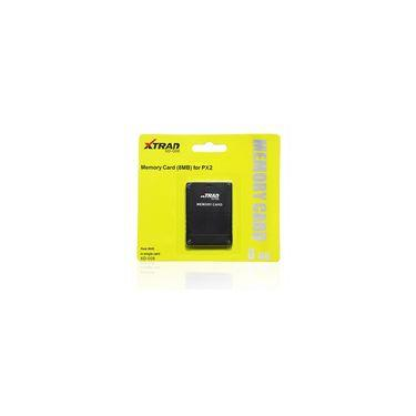 Memory Card 8mb Compatível Ps2 Xtrad Xd-008