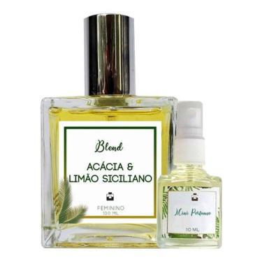 Imagem de Perfume Acácia & Limão Siciliano 100ml Feminino - Blend de Óleo Essencial Natural + Perfume de presente