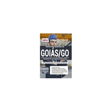 Imagem de Apostila Prefeitura de Goiás - GO 2020 - Agt Fiscal de Obras