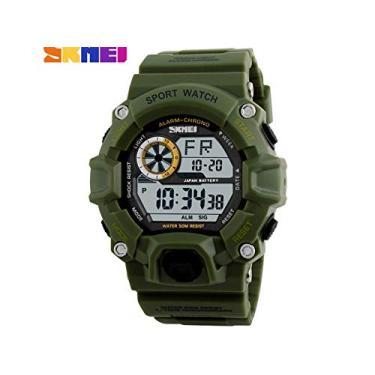 bdffb530994 Relógio Masculino Skmei Digital 1019 Verde
