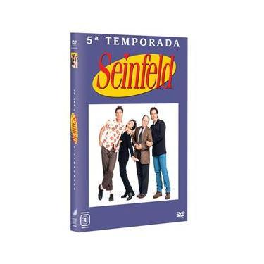 DVD - Seinfeld: 5ª Temporada - 4 Discos